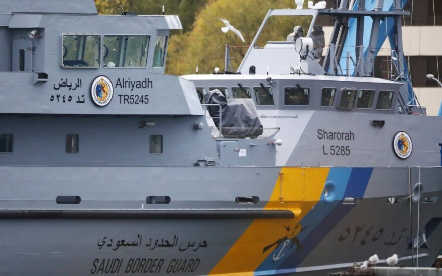 """""""Luerssen"""" statyti laivai, skirti Saudo Arabijai"""