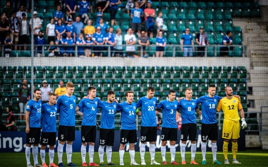 Estijos futbolo rinktinė