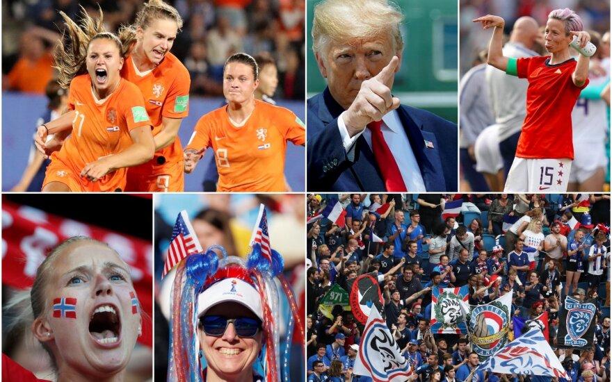 Pasaulio moterų futbolo čempionatas / Foto: AFP-Scanpix, AP-Scanpix, Reuters-Scanpix