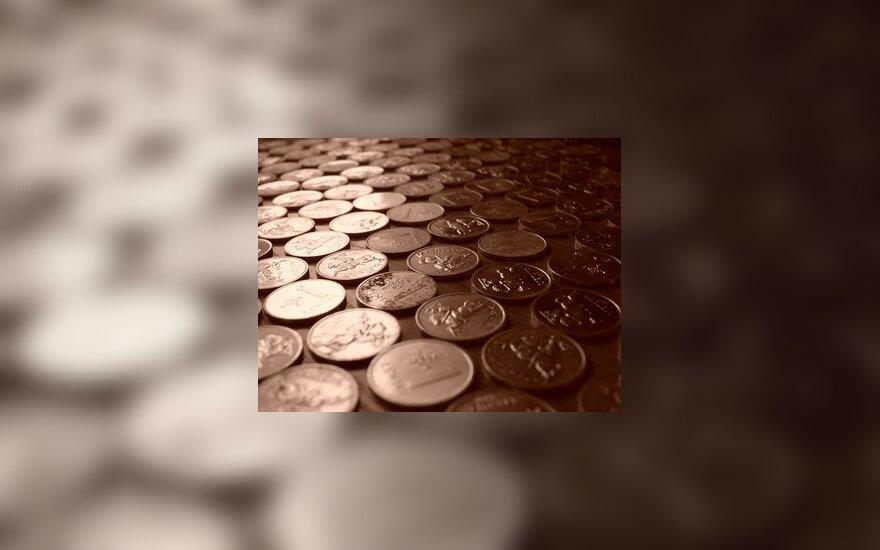 Verslas, pinigai, centai, monetos