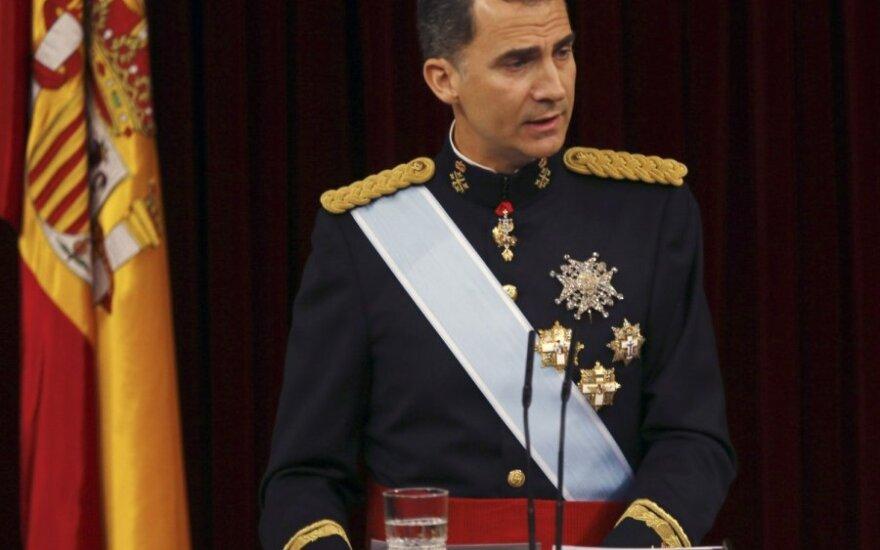 Katalonų separatistai nutraukė oficialius ryšius su Ispanijos monarchija