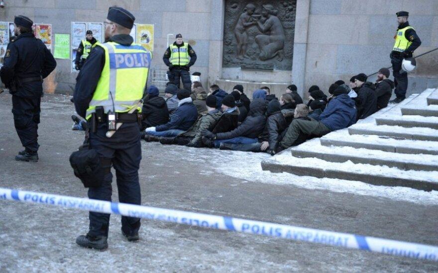 Švedijoje trys asmenys apkaltinti teroristinės atakos planavimu