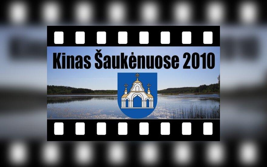"""Festivalio """"Kinas Šaukėnuose 2010"""" logotipas"""