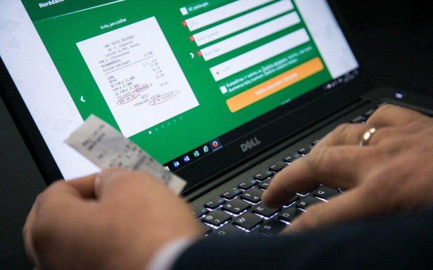 Spraga čekių loterijoje: registruoja visus, bet laimėjimo kai kam neduos
