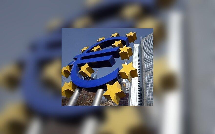 Euro zonos pramonės apimtys birželį smuko