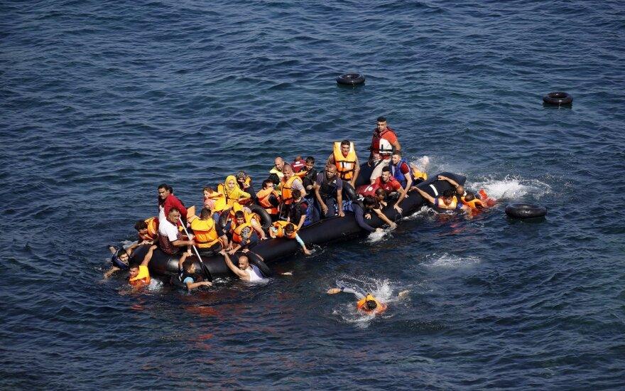 Graikijos premjeras ragina Europą ruoštis naujai pabėgėlių bangai