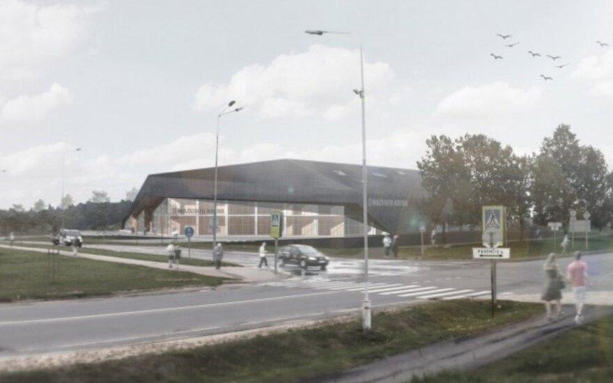 Mažeikių arenos projektas / FOTO: aexn.lt