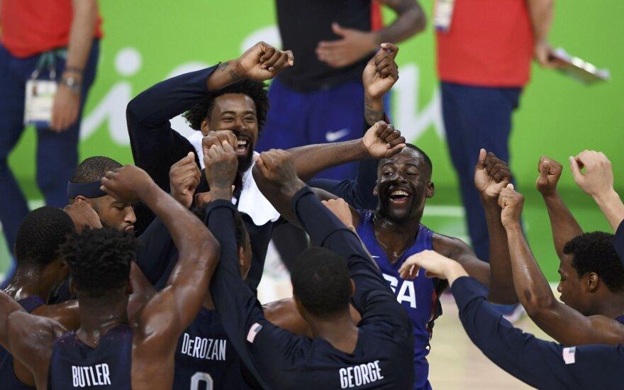 JAV olimpinė krepšinio rinktinė Rio de Žaneiro olimpiadoje
