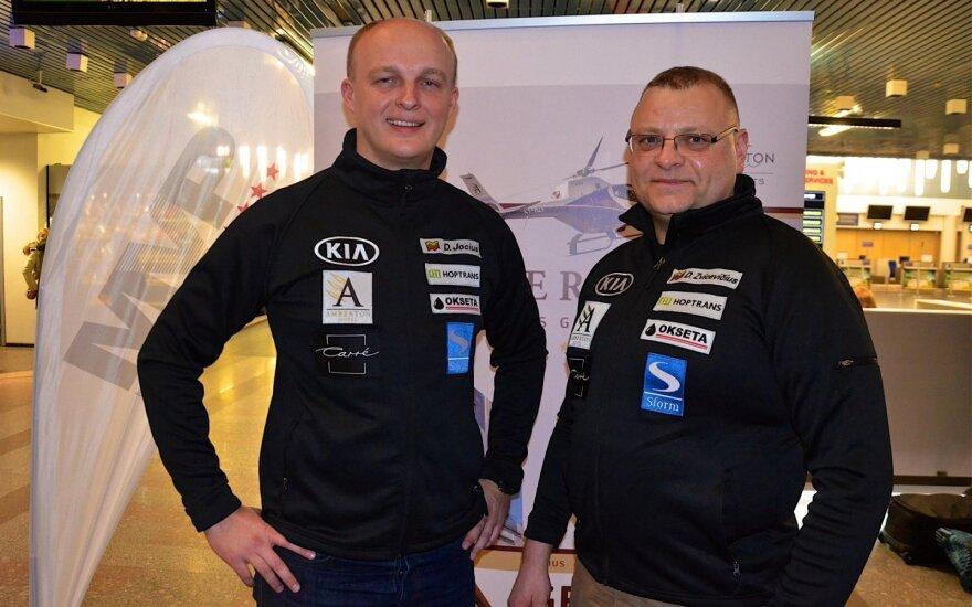 Deividas Jocius ir Donatas Zvicevičius