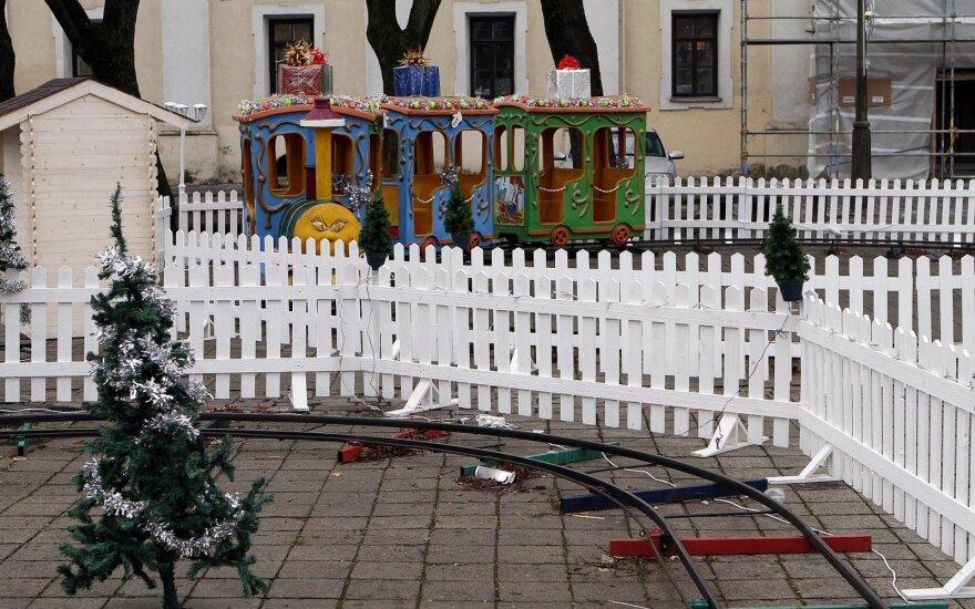 Elektros ilgintuvai Kauno rotušėje