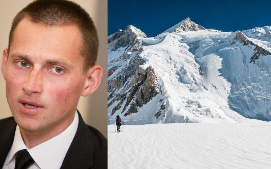 Vienas žymiausių Lietuvos alpinistų – ligoninėje Pakistane: nusileidimas nuo kalno turėjo savo kainą