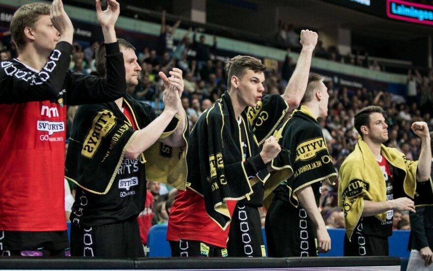 """Ištraukti Europos taurės burtai: """"Rytas"""" žais vienoje grupėje su """"Unicaja"""""""
