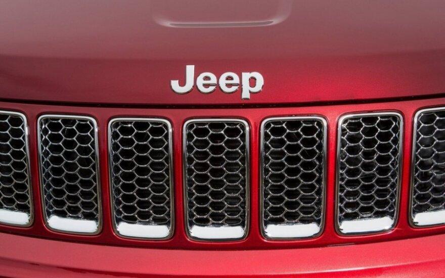 """Tikisi neregėtų """"Jeep"""" visureigių pardavimų"""