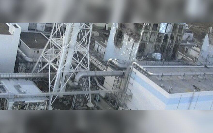 Radiacijos lygis prie Fukušimos AE viršija normas 1600 kartų