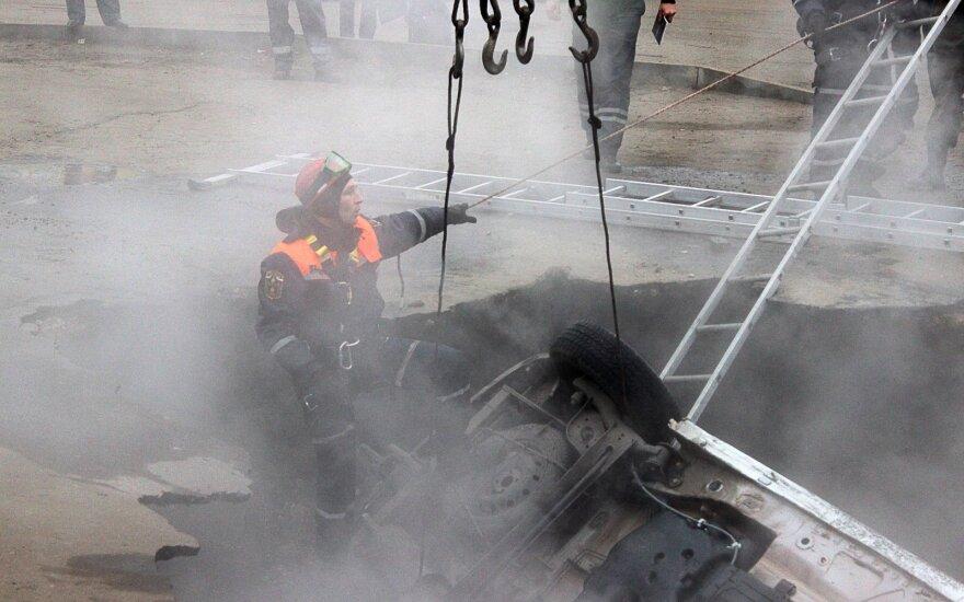 Tragedija Rusijoje: duobėje su verdančiu vandeniu žuvo du vyrai