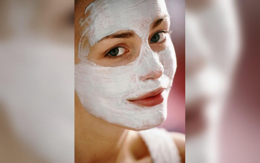 Grožis, veido odos priežiūra, kaukė, kosmetika