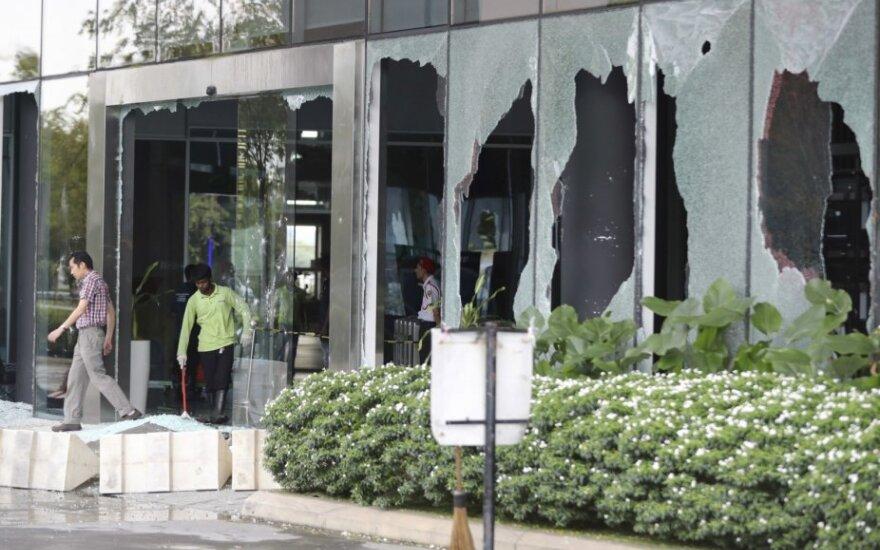 Malaizijoje sulaikyta 17 žmonių, dalyvavusių riaušėse dėl šventyklos perkėlimo