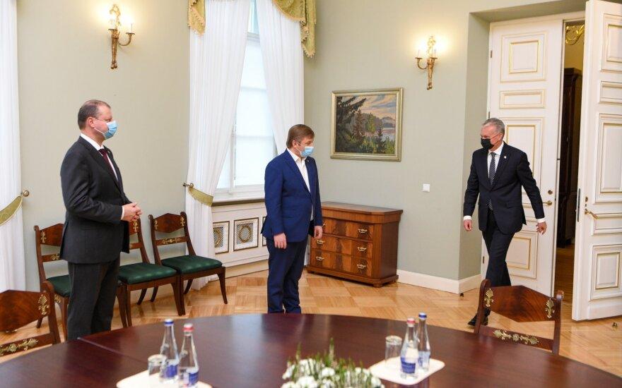 Saulius Skvernelis, Ramūnas Karbauskis, Gitanas Nausėda