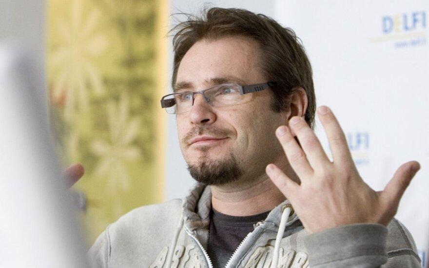 DELFI konferencijoje viešėjo Marijonas Mikutavičius