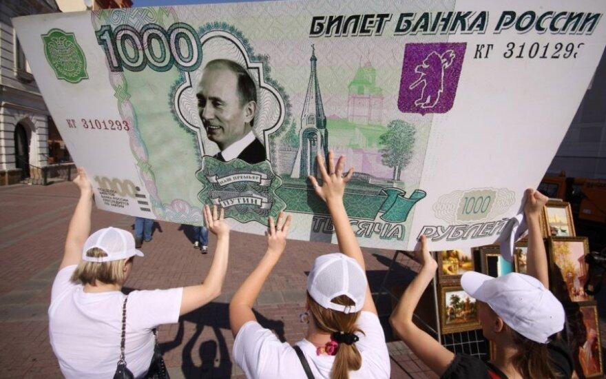 Leonid Bershidsky: Putinas trina rublio istoriją