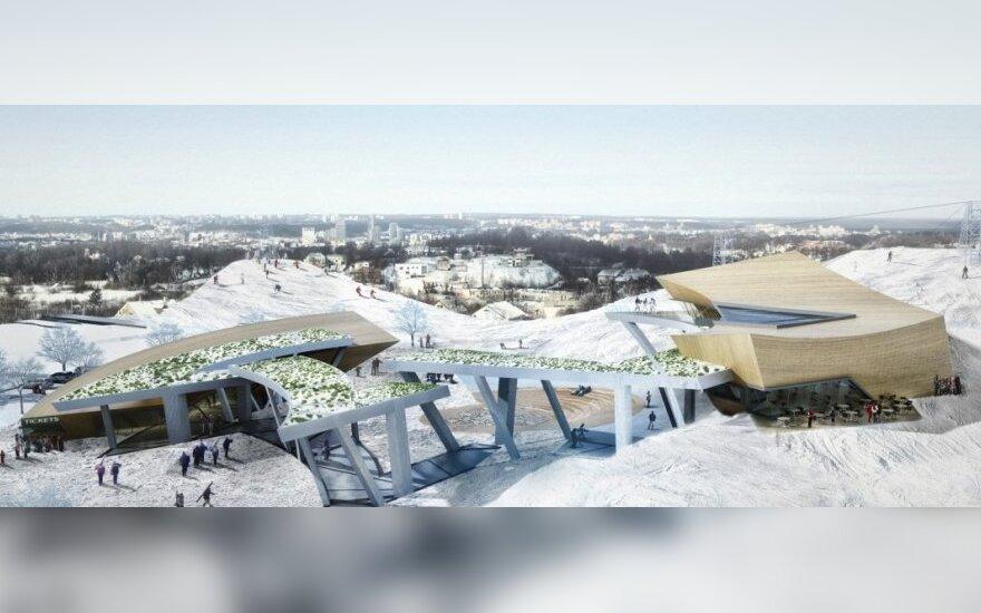 Liepkalnio žiemos ir vasaros pramogų sporto centro projektas