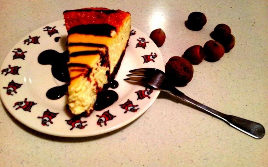 Kreminis varškės pyragas