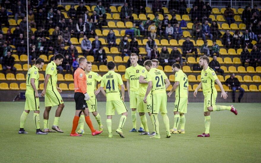 """""""Trakų"""" futbolininkai pralaimėjo pirmąsias """"Winter Cup"""" turnyro rungtynes"""