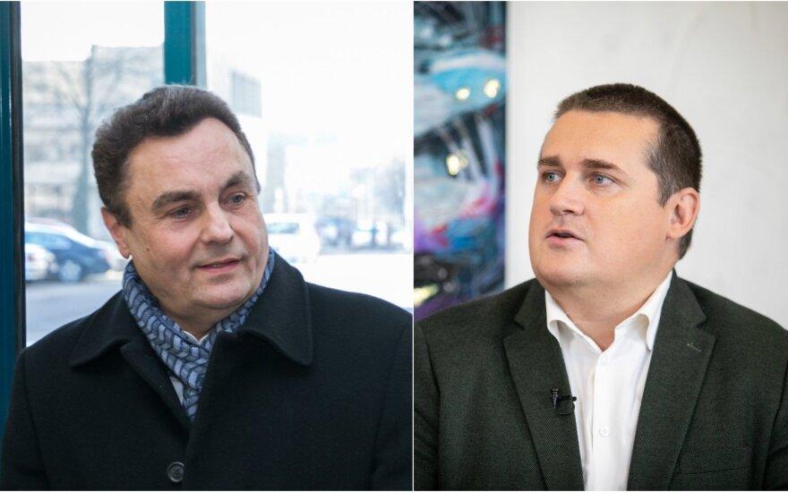 P. Gražulis ir S. Malinauskas