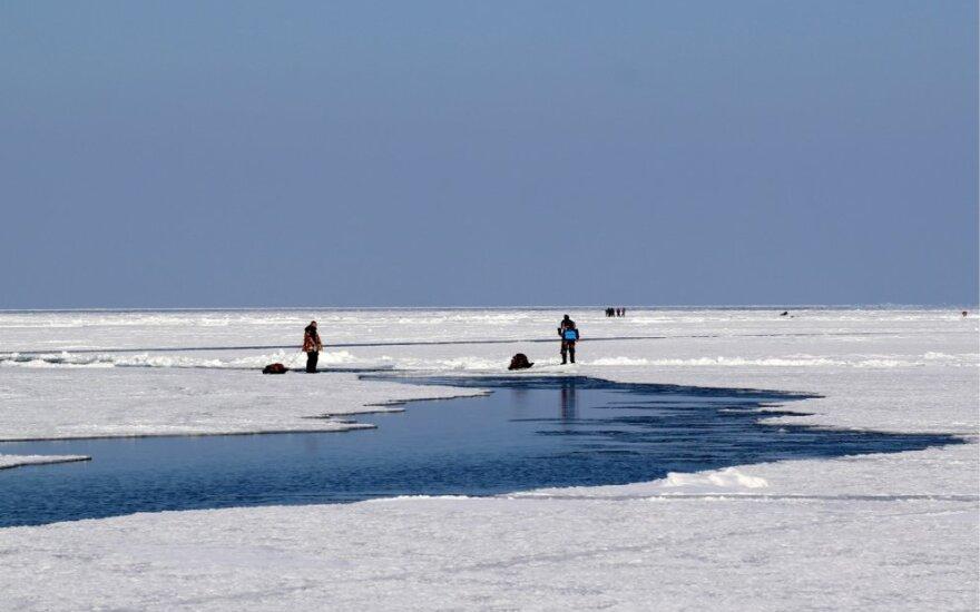 Žvejai prie Sachalino salos