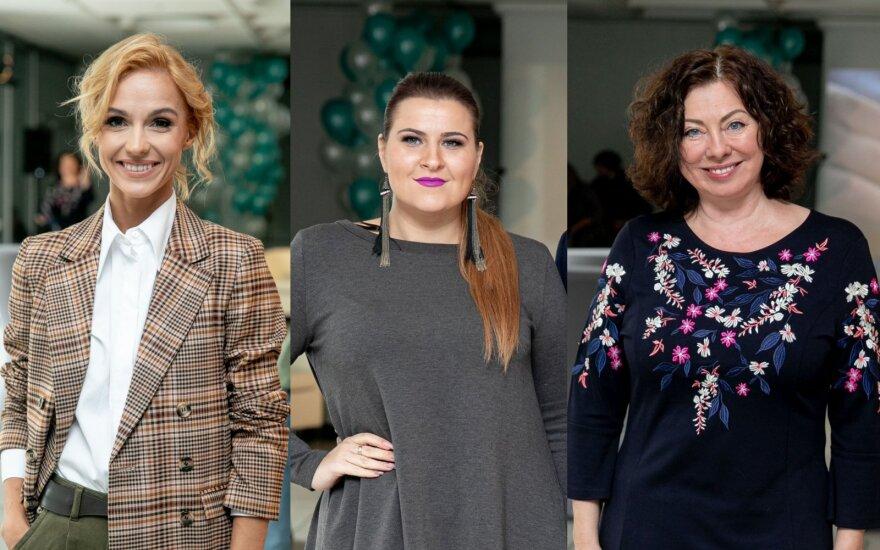 Indrė Morkūnienė, Erika Vitulskienė, Daiva Tamošiūnaitė