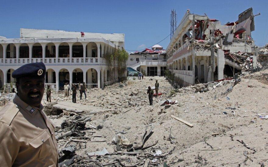 Somalyje per išpuolį žuvo JAV specialiųjų pajėgų narys, keturi sužeisti