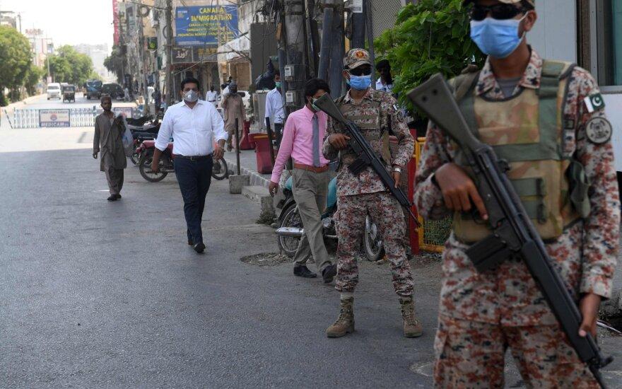 Per sprogimą Pakistano pietuose žuvo trys žmonės