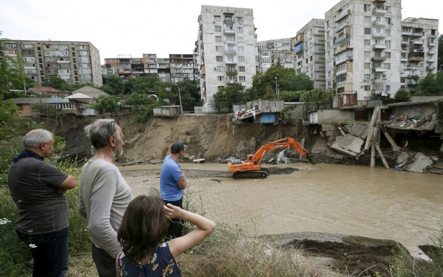 Lithuania allocates EUR 12,000 for flood-hit Georgia
