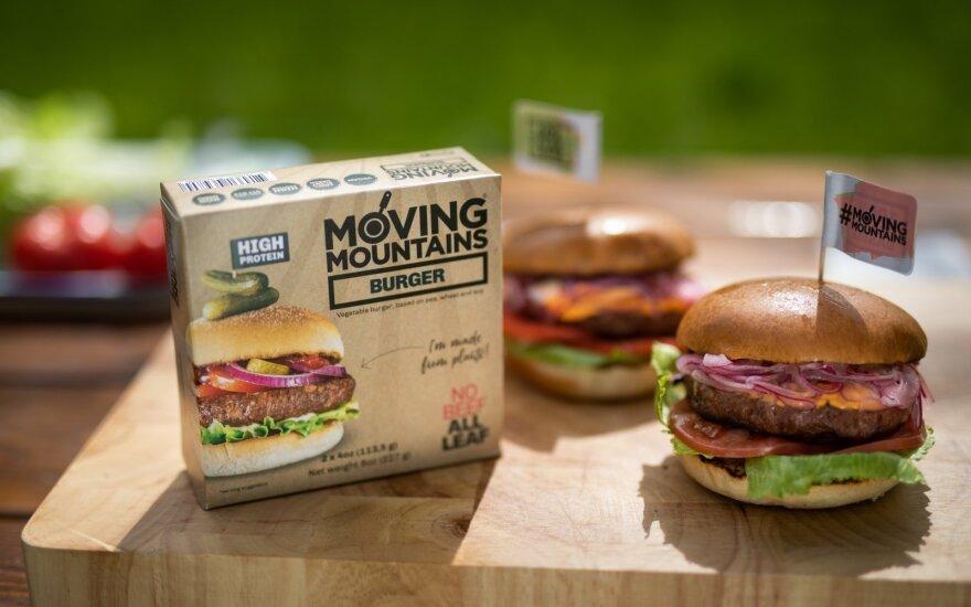 Moving Mountains Klasikinis burgeris