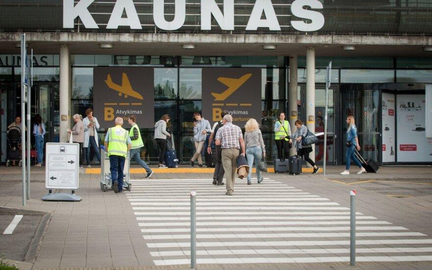 Kauno oro uostas gegužę aptarnavo rekordinį skaičių keleivių