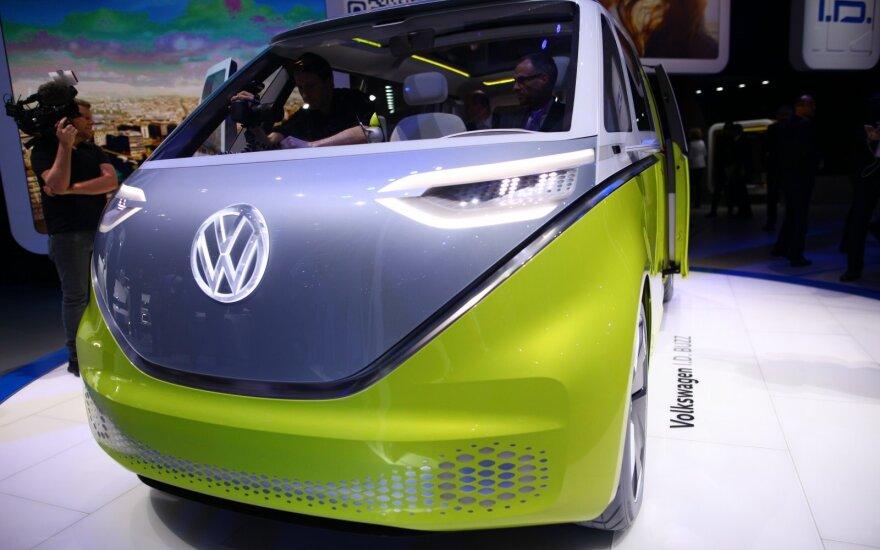 "Koncepcinis ""Volkswagen I.D. Buzz"" (asociatyvi nuotr.)"