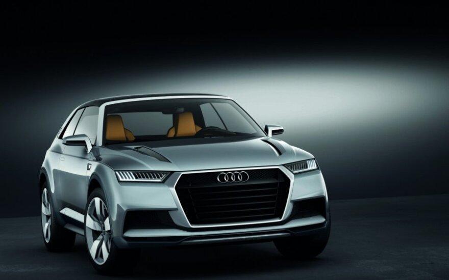 """Audi"" prioritetas – SUV automobiliai"