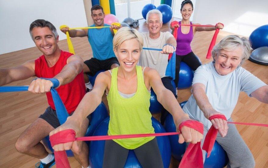 Dovana vilniečiams – iki pat sausio pabaigos galės sportuoti nemokamai