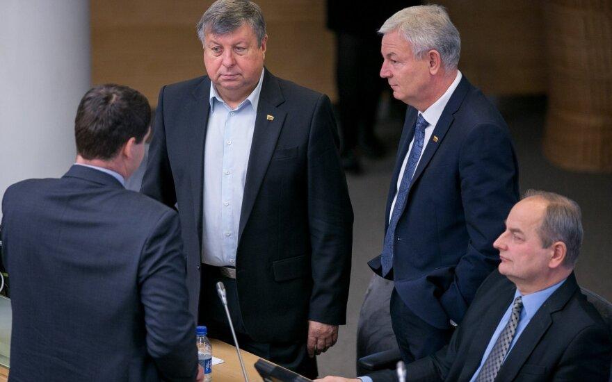 Jonas Liesys, Ričardas Juška, Juozas Baublys
