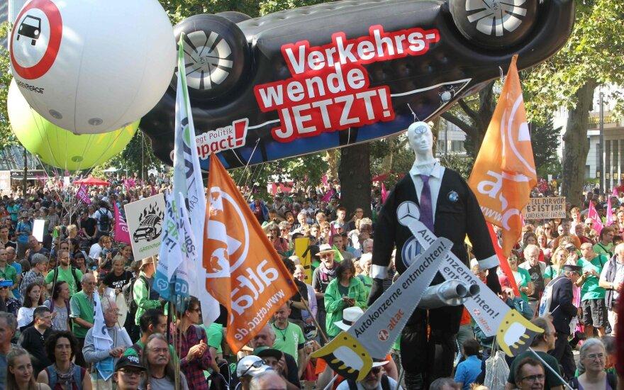 Protestas Frankfurte