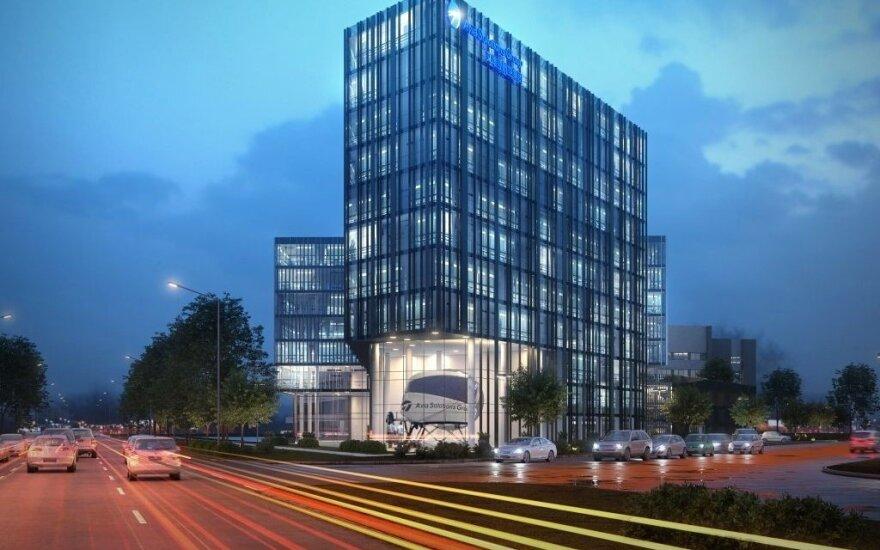 Šalia Vilniaus oro uosto G. Žiemelio bendrovė statys biurų kompleksą
