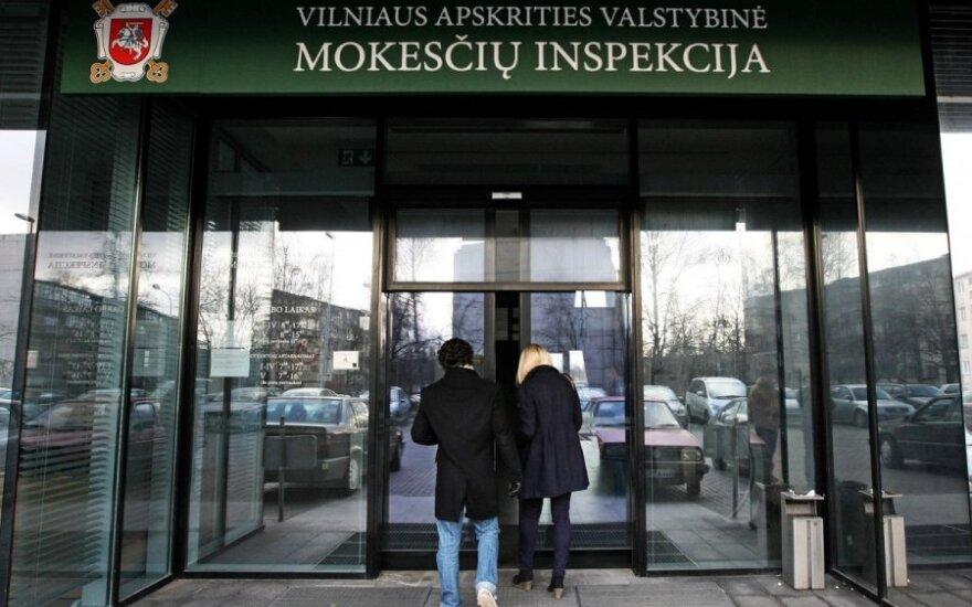 Mokesčių inspekcija nusitaikė į išleidusius nemenkas sumas grynųjų