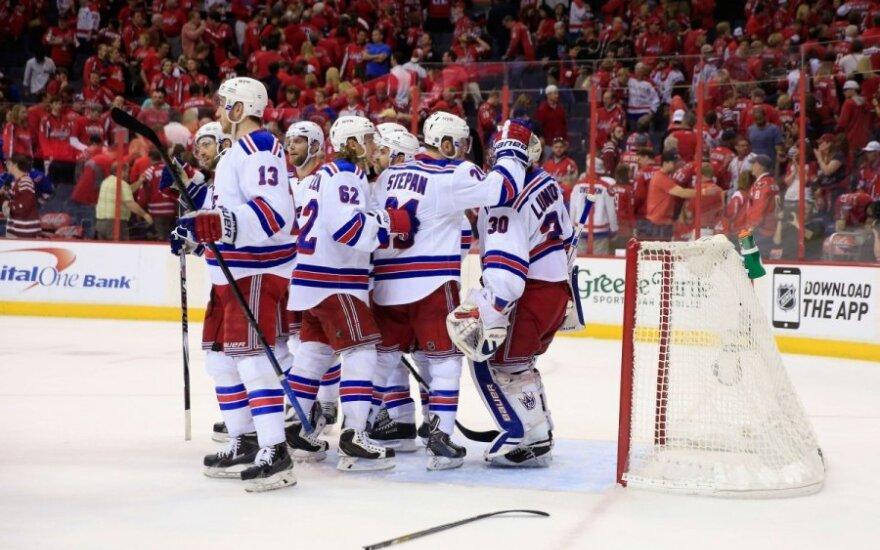 """""""Rangers"""" ritulininkai džiaugiasi"""
