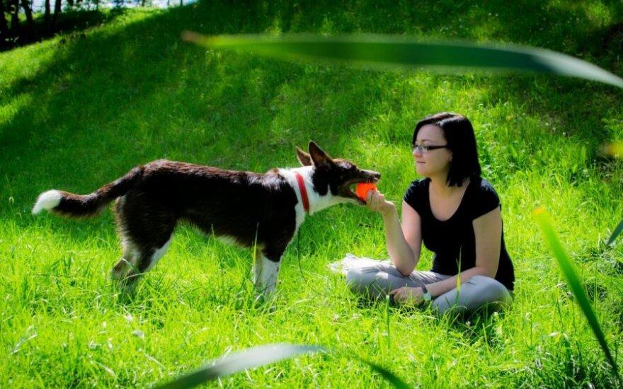 Šunelis iš prieglaudos džiugina kasdien