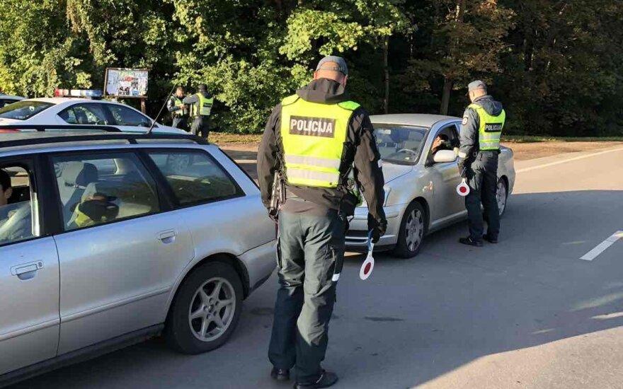 Vos per keletą valandų Kauno policijai įkliuvo 4 neblaivūs vairuotojai