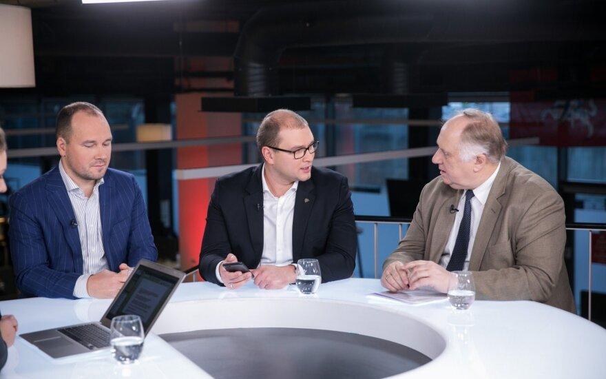 Žygimantas Mauricas, Ignas Krasauskas, Kęstutis Andrijauskas