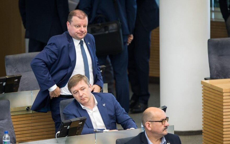 Saulius Skvernelis, Ramūnas Karbauskis