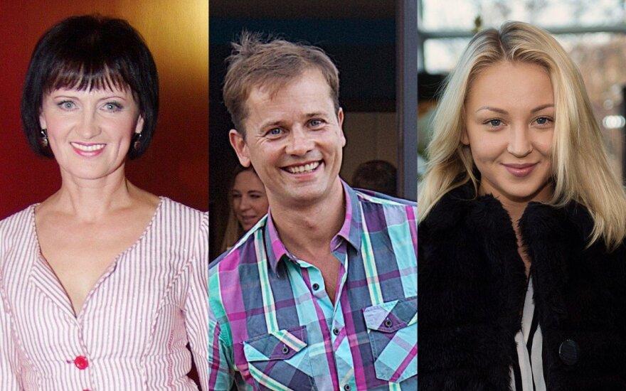 Laima Lapkauskaitė, Nerijus Juška, Eglė Straleckaitė