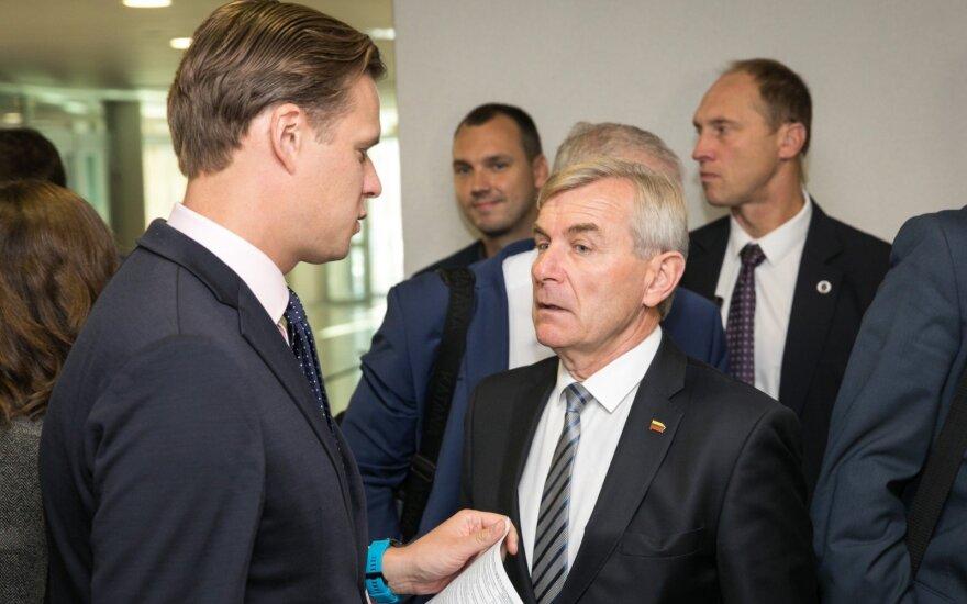 Gabrielius Landsbergis, Viktoras Pranckietis