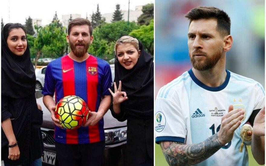 Reza Parasteshas, Lionelis Messi
